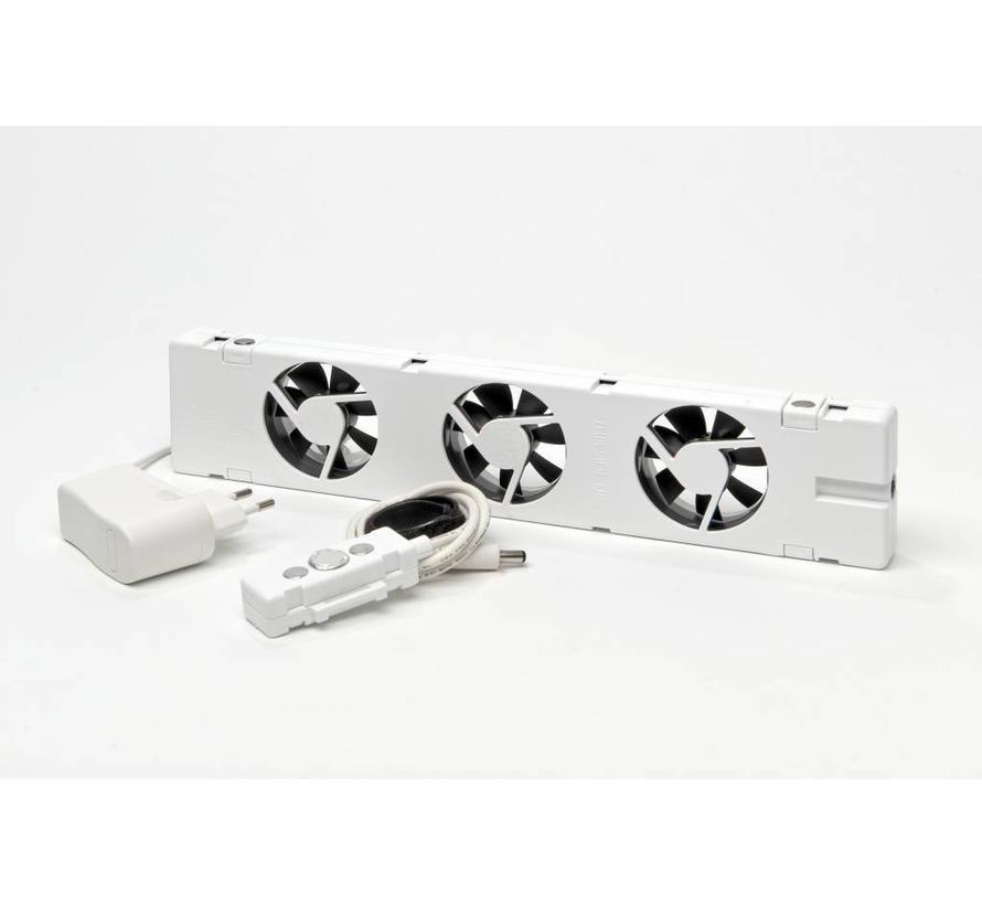 SpeedComfort Basic Radiatorventilator set