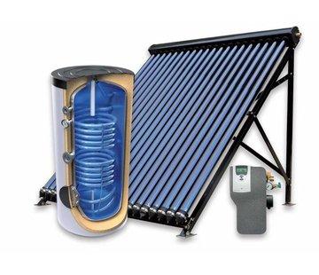 TechniQ 200L zonneboiler-set (24HP) voor verwarming en tapwater