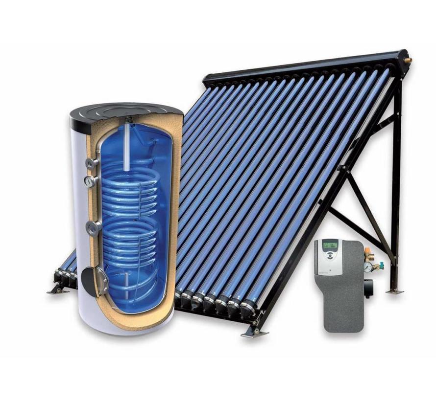 200L zonneboiler-set voor verwarming en tapwater (24 HP)