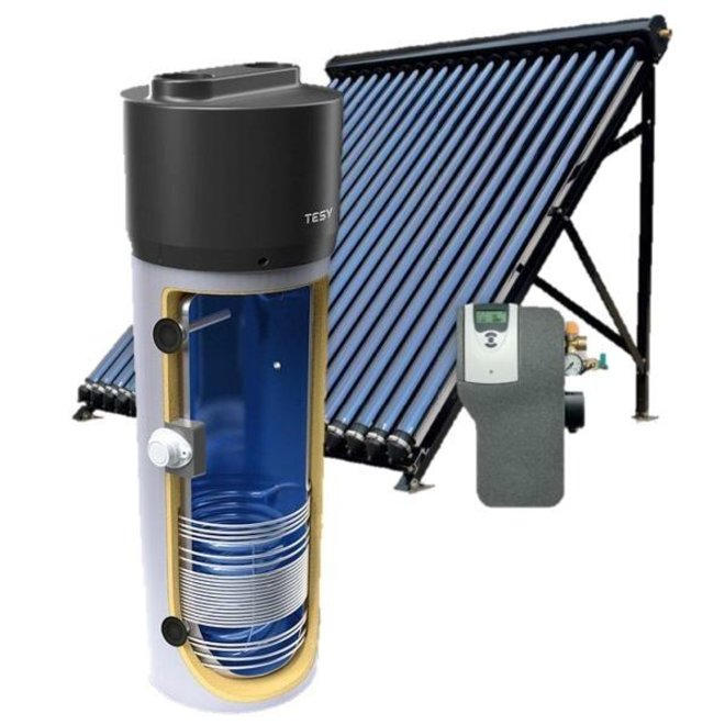 Zonne-warmtepompboiler combinatie 260L
