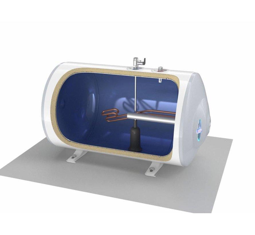 Elektrische Boiler 80L, horizontaal, 2kW, voor vloermontage
