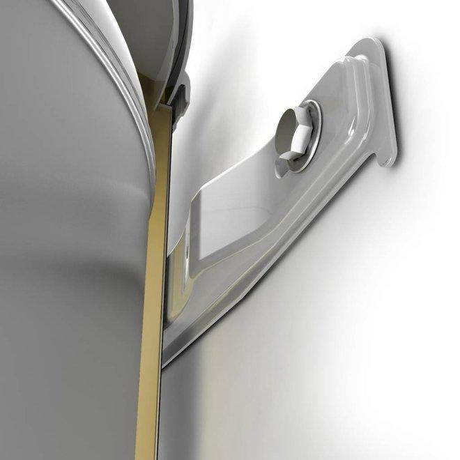 Elektrische boiler 50 liter Bi-light inox (RVS)