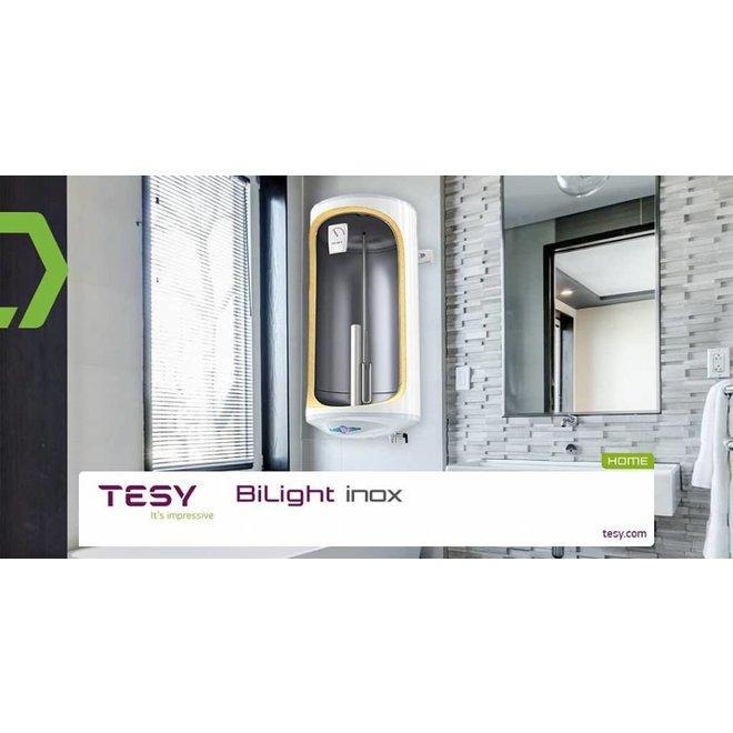 Elektrische boiler 80 liter Bi-light inox (RVS), slank model
