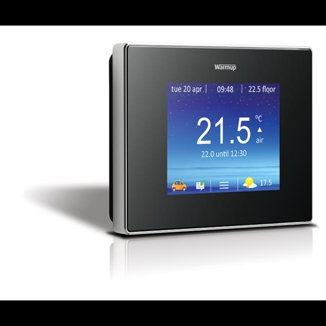Warmup 4iE Thermostaat met Wifi voor elektrische (vloer)verwarming