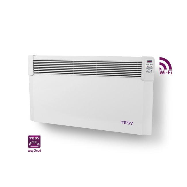 Tesy 2,0 kW elektrische wandconvector met  wifi  en app