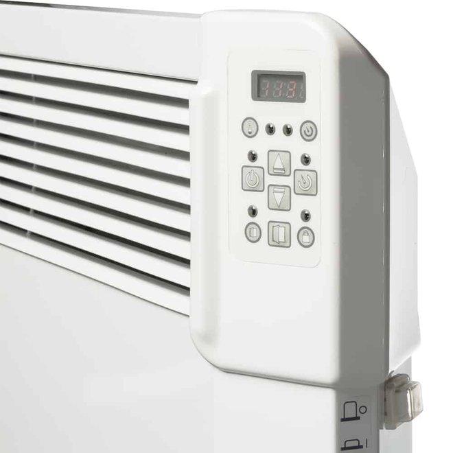 2,0 kW elektrische wandconvector met  wifi  en app