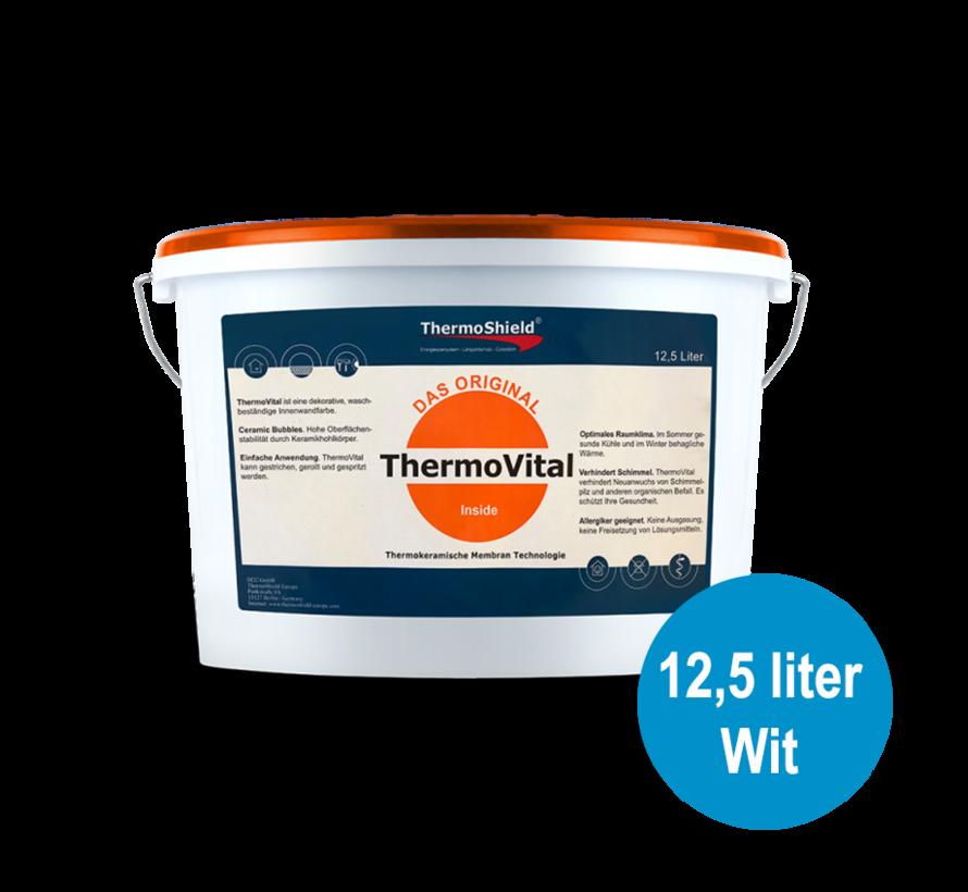 Vital - schimmelwerende muurverf, 12,5 liter - Wit