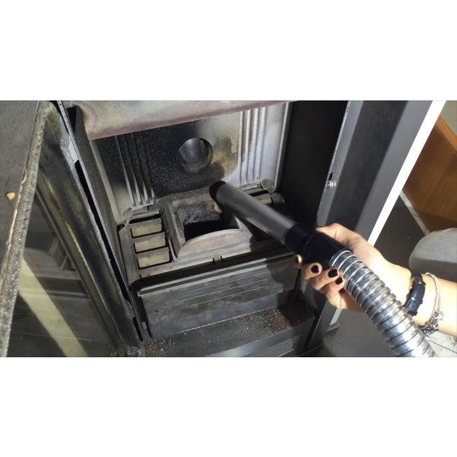 RibiTech Elektrische as-stofzuiger (18 L) voor de hout- en pelletkachel