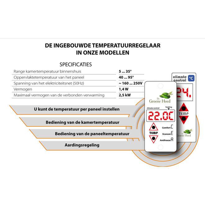 Sun+ Infrarood verwarmingspaneel - 700W