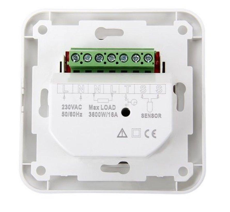 Complete 150 Watt mat set inclusief eenvoudige draai thermostaat
