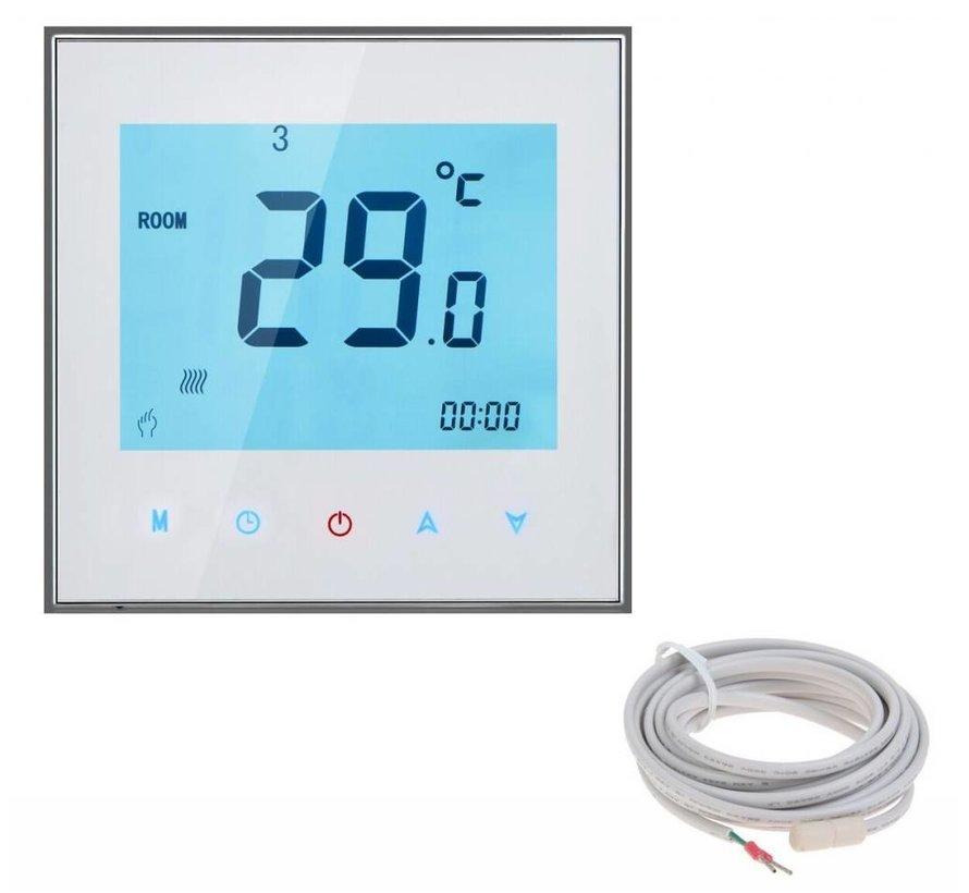 Complete 150 Watt mat set inclusief 7-Daags programmeerbare thermostaat