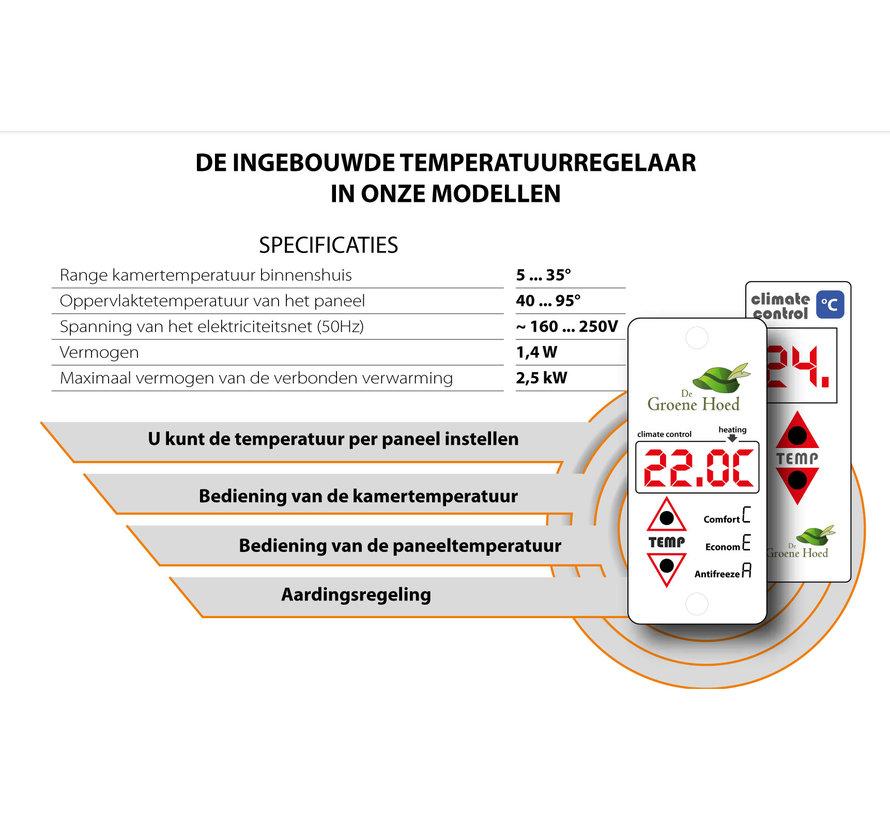 Sun+ Infrarood verwarmingspaneel - 1000W