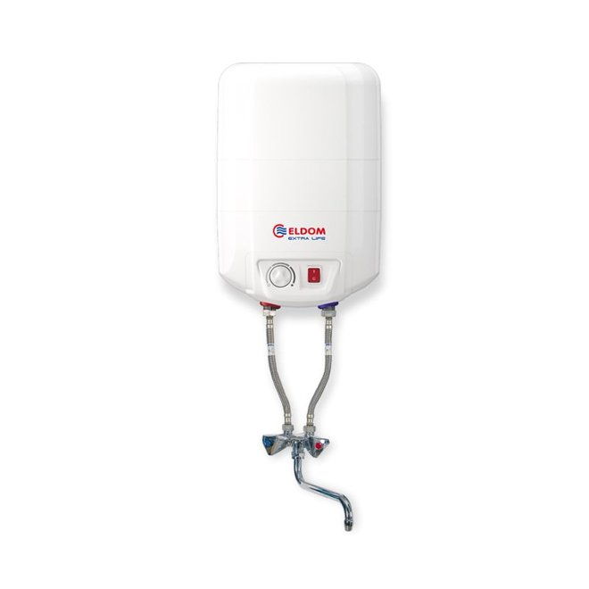 10 liter boiler met mengkraan