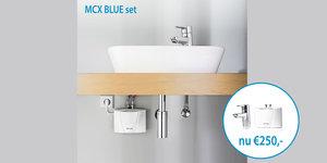ACTIE! MCX3 doorstromer met kraan tijdelijk voor €250,-