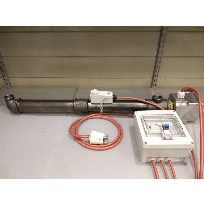 Doorstroomverwarmer geschikt voor CV toepassingen (1 tot 10 kW)