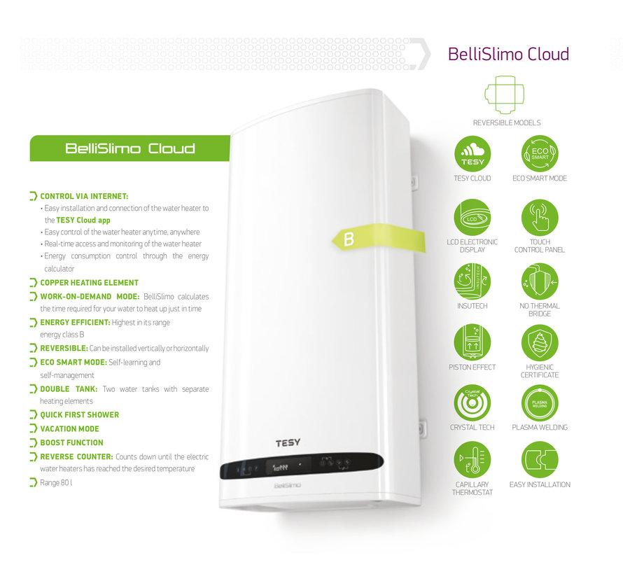 BelliSlimo 80 boiler Cloud