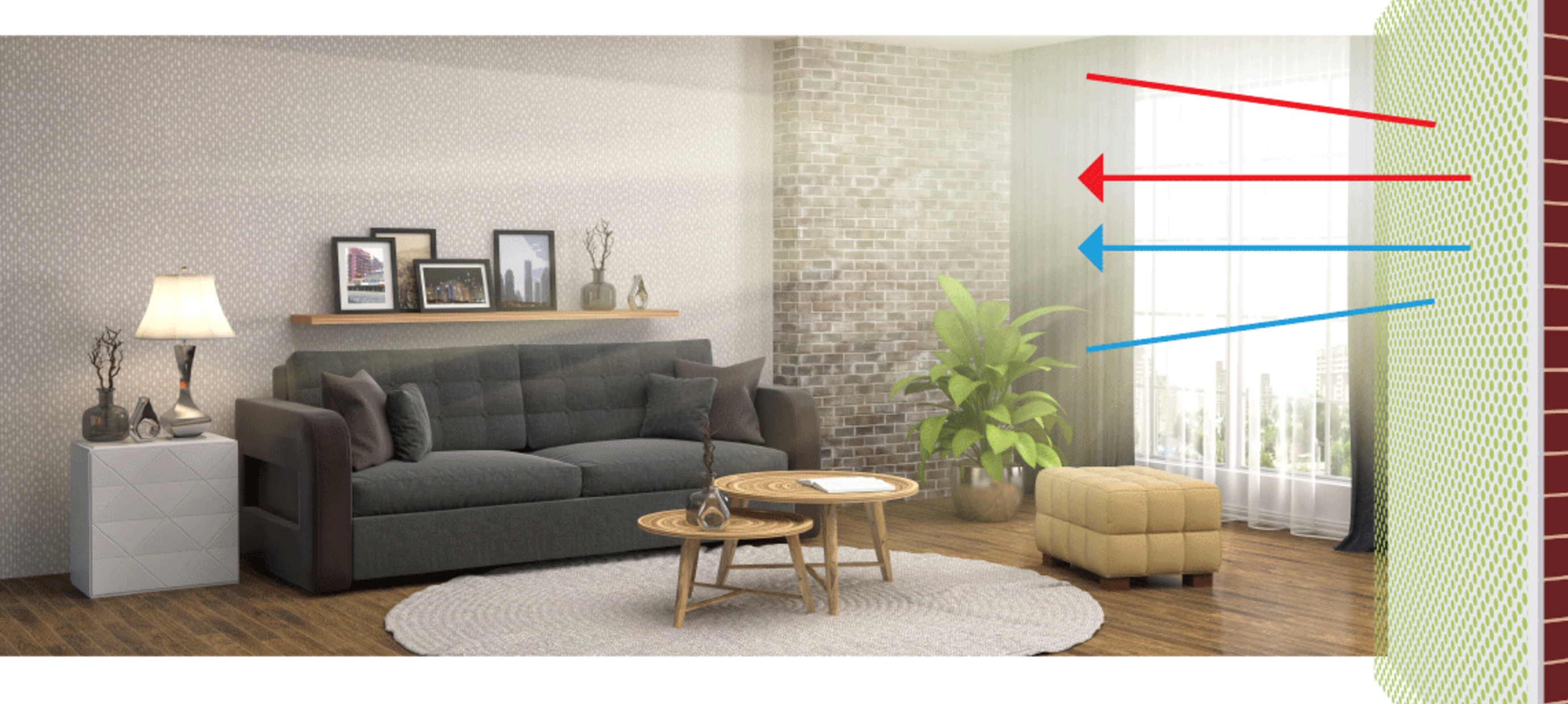 Energie besparen met ThermoShield en infraroodpanelen