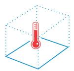 Warmtevraag bepalen voor een losse ruimte