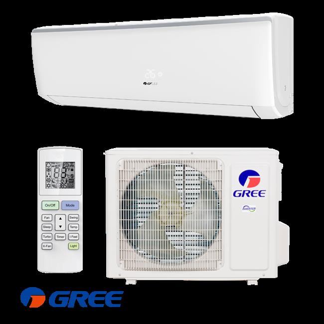 Gree Split-unit inverter airco 3.5 kW voorgevuld  (STEK)