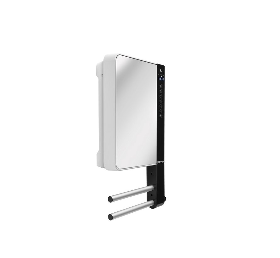 Aurora Windy Visio Badkamerverwarming  met spiegel