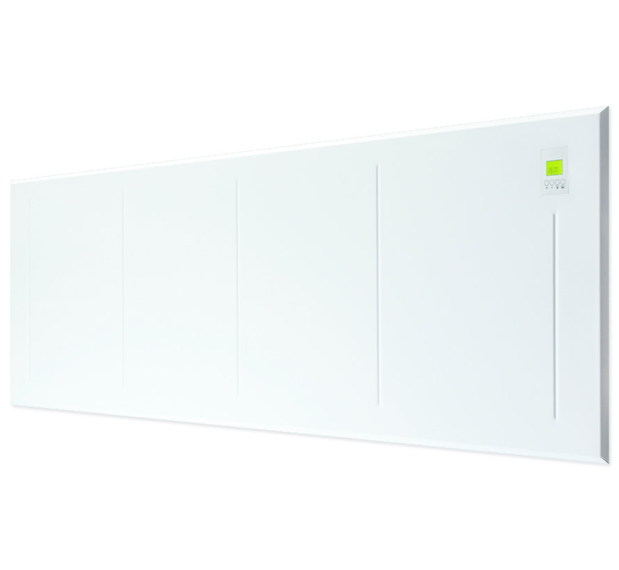 MODERN+ 750 Watt, radiator met warmteopslag  (Opt WIFI)
