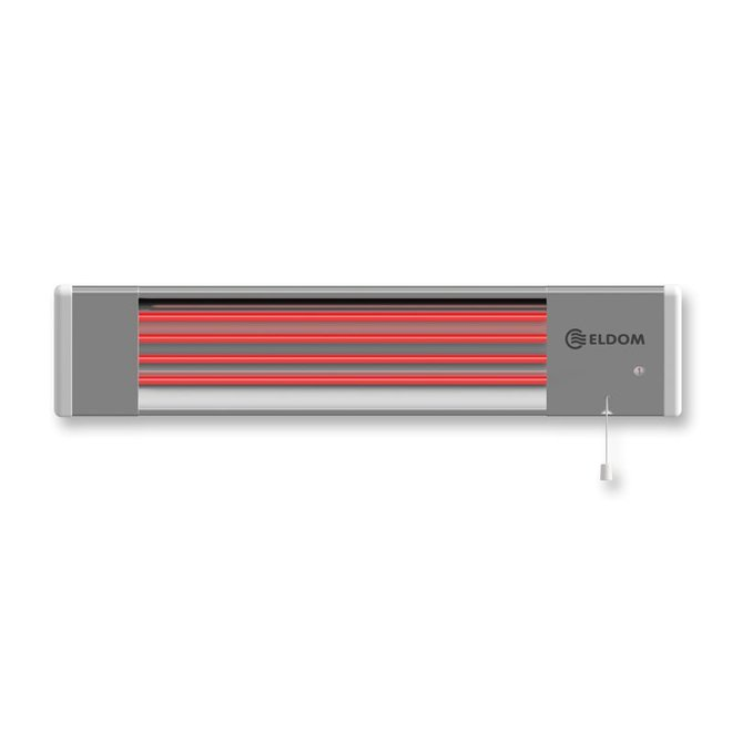 Eldom infraroodstraler van 1800 Watt voor buiten
