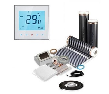 Quality heating Elektrische vloerverwarmingset voor laminaat en parket incl. digi thermostaat