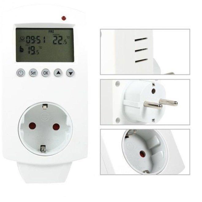 Wifi stopcontact programmeerbare thermostaat elektrische verwarming
