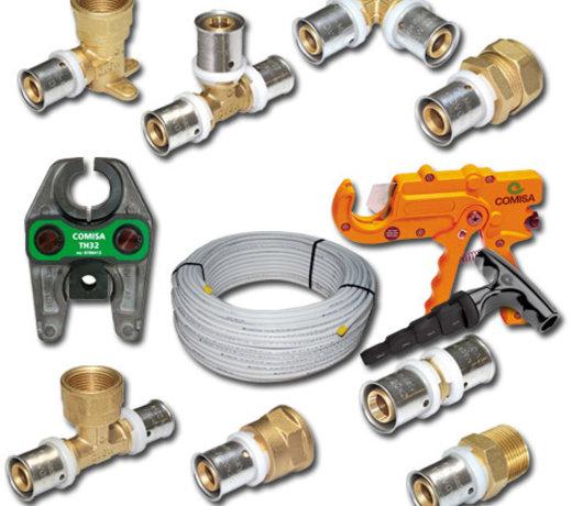 Persleiding systeem voor tap- en verwarmingswater