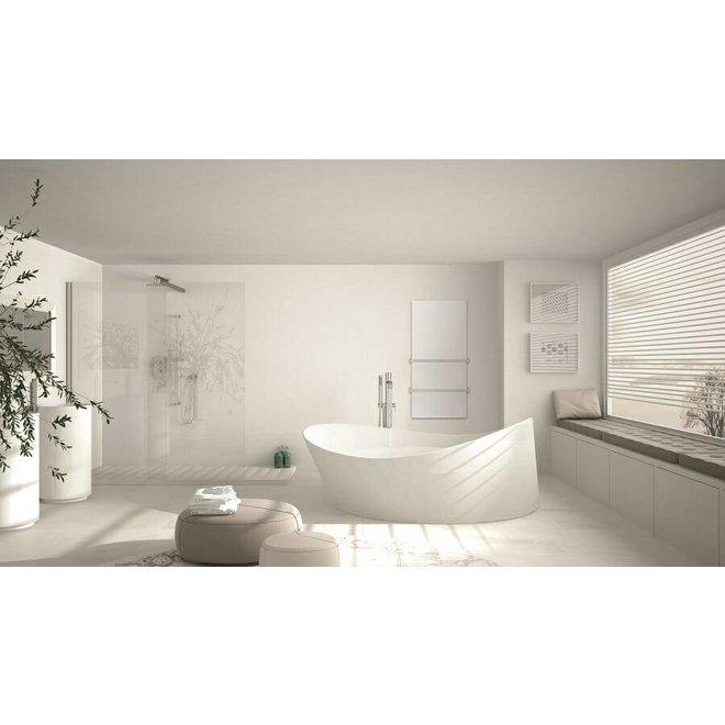 Select XLS Thermisch glazen infrarood paneel met handdoekdroger (500 of 700 Watt)