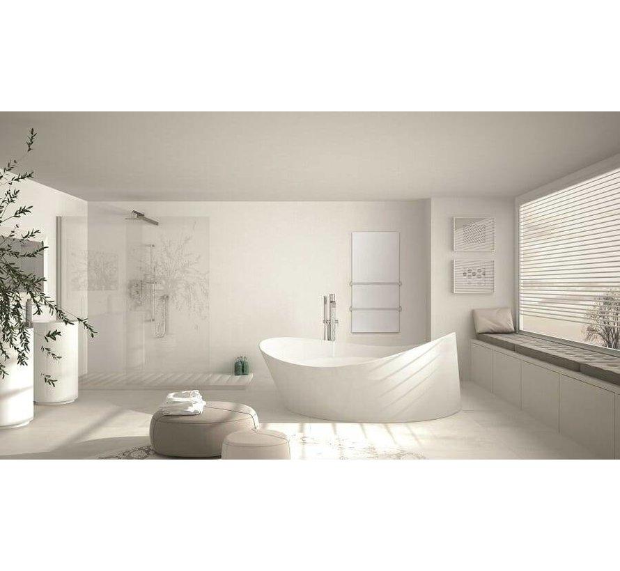 Select XLS Thermisch glazen infrarood paneel met handdoekdroger (700 Watt)