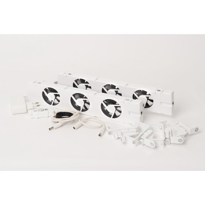 SpeedComfort Single Plate Radiatorventilator set