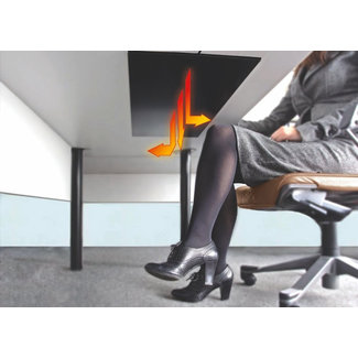 Dimbare bureau infraroodverwarming (10-150W)