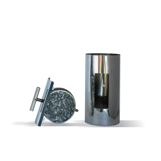 Ecolink Solutions ABCAT Houtrookfilter met een diameter van 180 mm