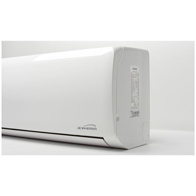 Split-unit inverter airco 6,1 kW voorgevuld  (STEK)