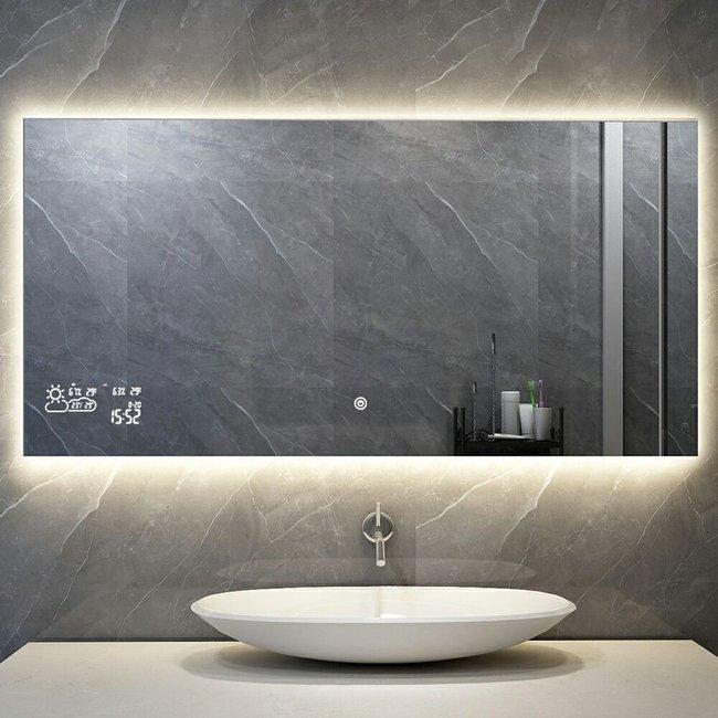 Quality heating Smart spiegel infrarood verwarming met led verlichting (350 Watt)
