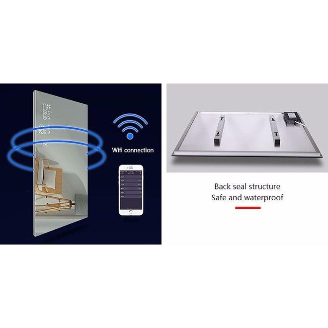 Smart spiegel infrarood verwarming met led verlichting (350 Watt)