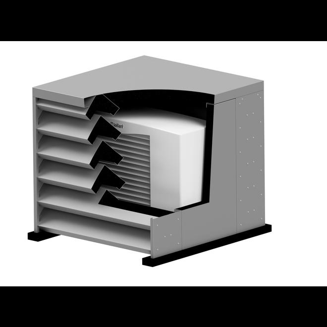 Warmtepomp / airco omkasting