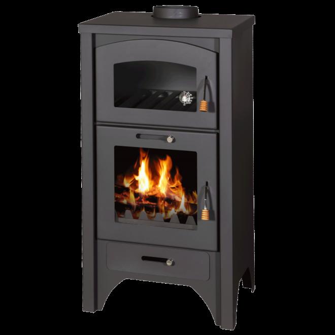Heat Nova  vrijstaande houtkachel met oven (11 kW)
