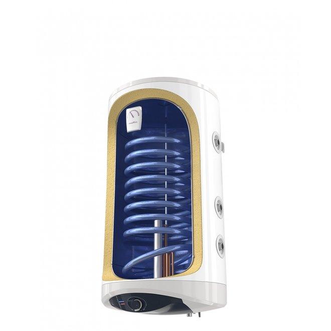 Verticale elektrische boiler 150L met 1 warmtewiselaar, Modeco 2 kW