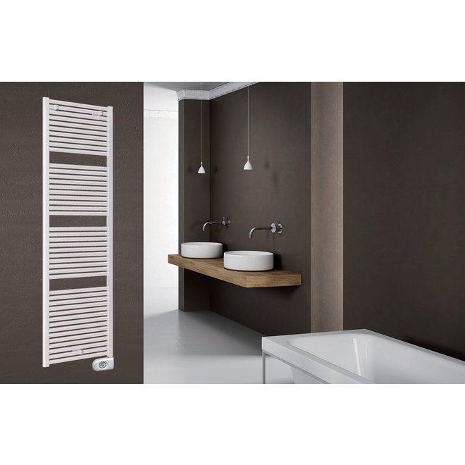 Claudia Ecodesign digitaal, elektrische handdoekradiator 500 Watt, 763 x 500mm