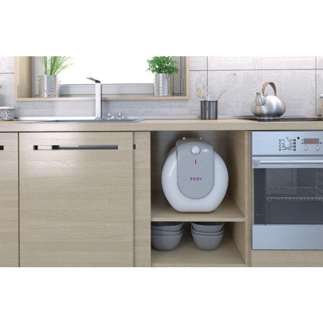 Keukenboiler, 10 liter, 1,5 kW, voor onder het aanrecht