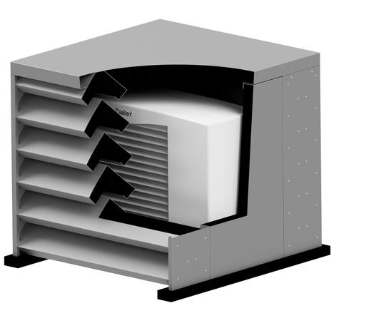 (Geluidsreducende) omkastingen voor airco buitenunit