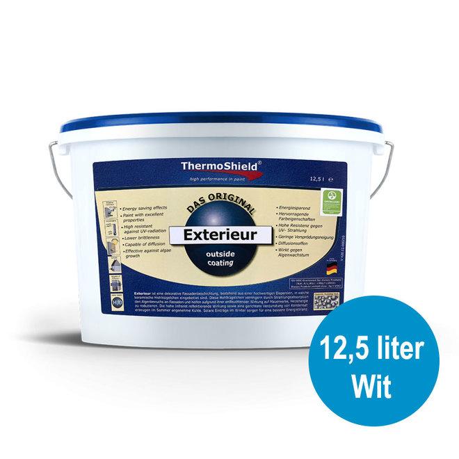 Exterieur 12,5 liter - Wit
