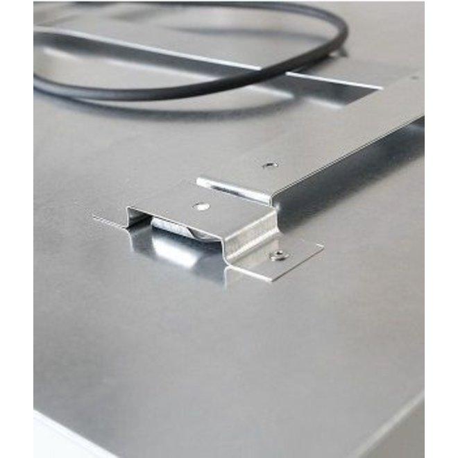 EcoSun infrarood paneel met korrel structuur 59x59, 300Watt