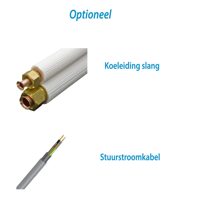 Split-unit warmtepomp (KIT-FZ50) inverter airco 5 kW voorgevuld  (STEK)