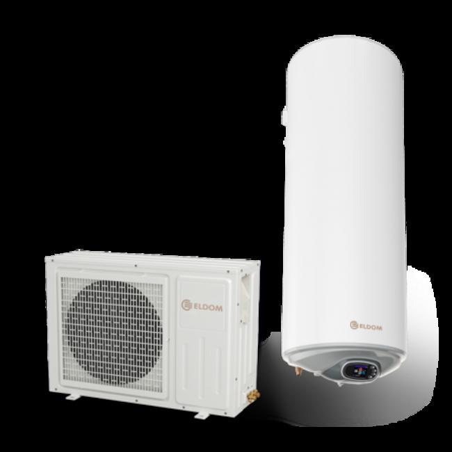 ELDOM Green Line Lucht-water Warmtepompboiler 150 liter, voor tapwater
