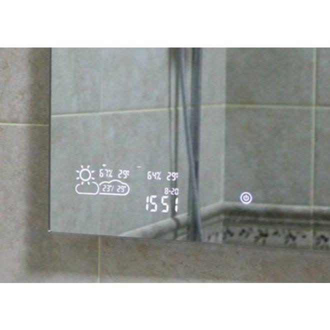 Smart spiegel infrarood verwarming met led verlichting (500 Watt)
