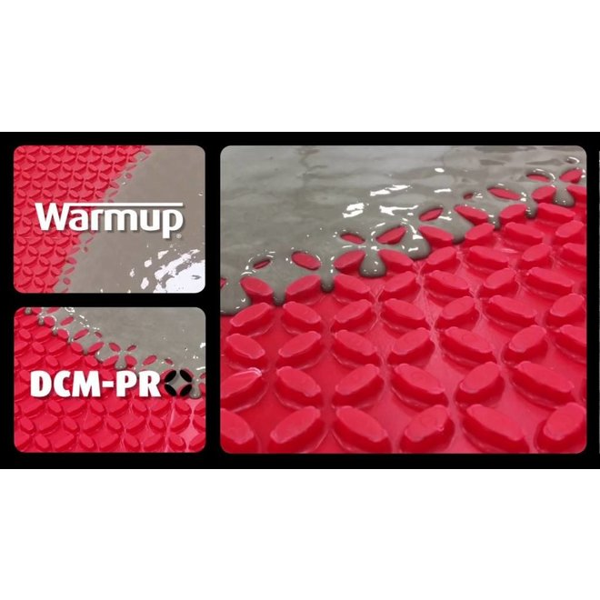DCM-PRO vloersysteem (mat+kabel+thermostaat)