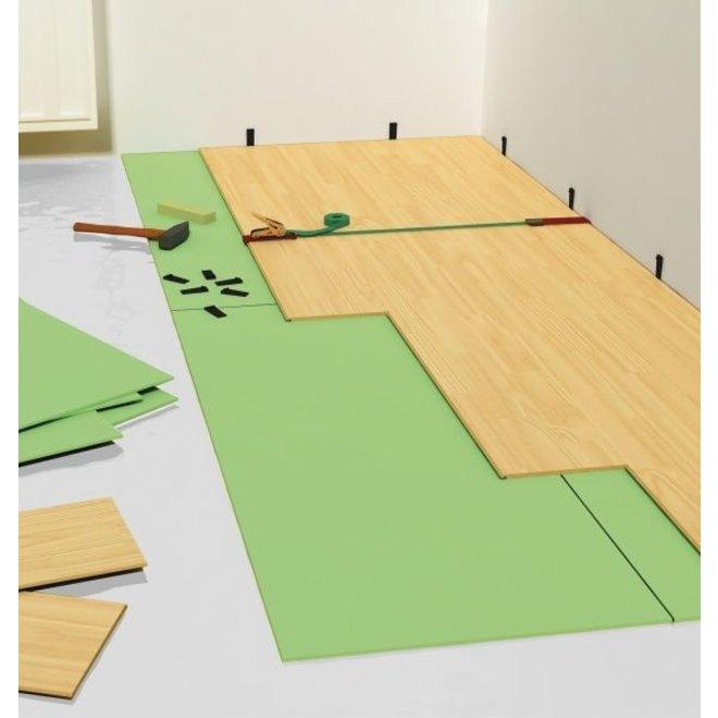 Isolatie XPS-PRO plaat ISO84 (hout, parket, tapijt) 7,2m² per pak